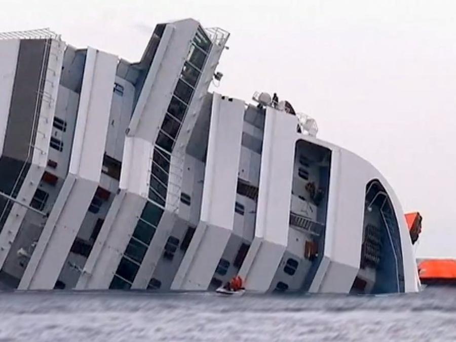 Italien: Gericht bestätigt Haftstrafe für Ex-Kapitän der Costa Concordia