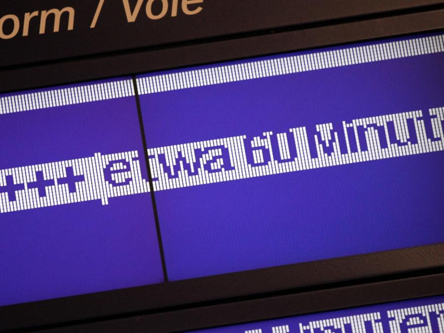 Deutsche Bahn erzielt neuen Unpünktlichkeitsrekord