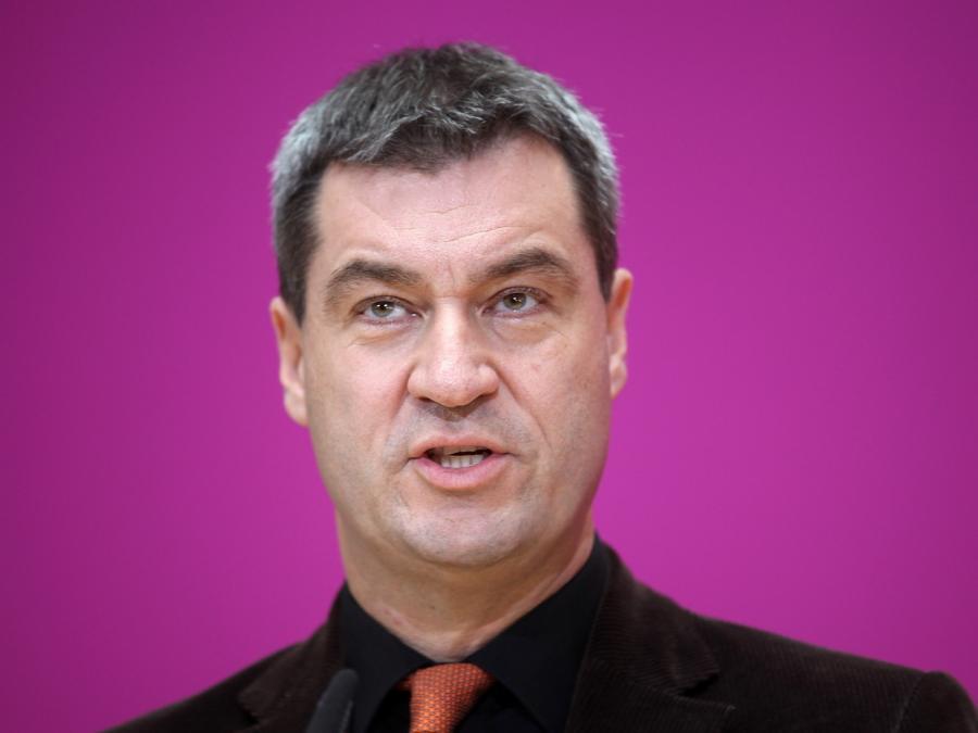 Söder besorgt um Kommunalpolitiker wegen Verschwörungstheorien