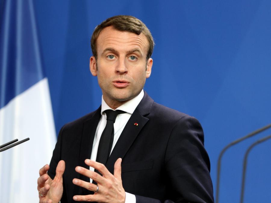 Macron für Neugründung Europas