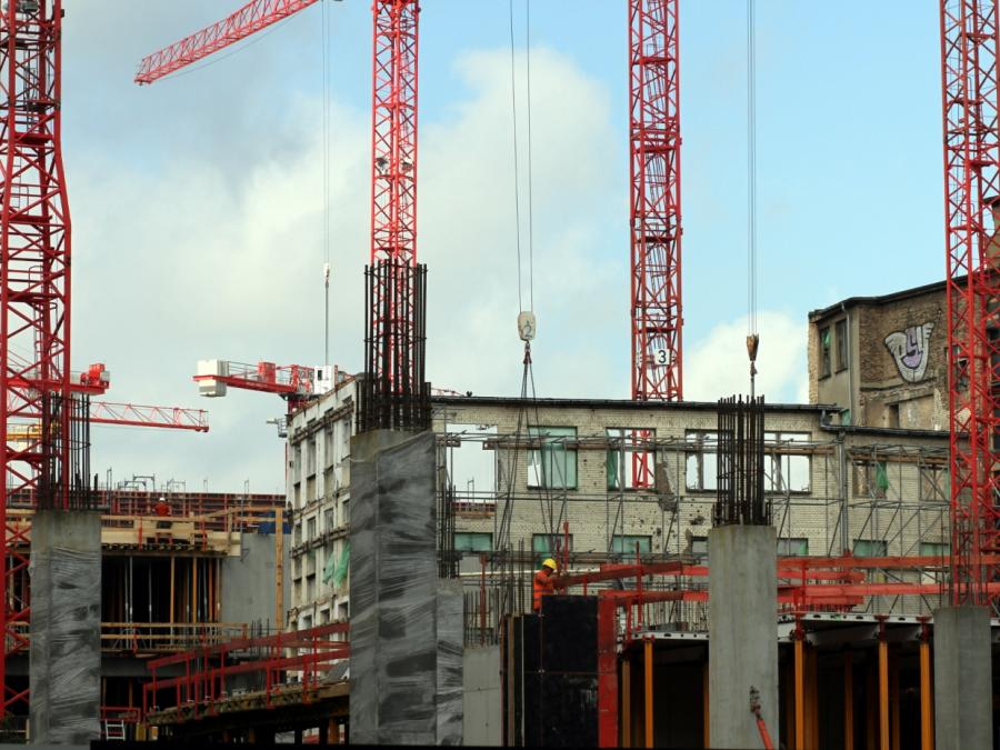 Zahl der Baugenehmigungen für Wohnungen leicht gestiegen