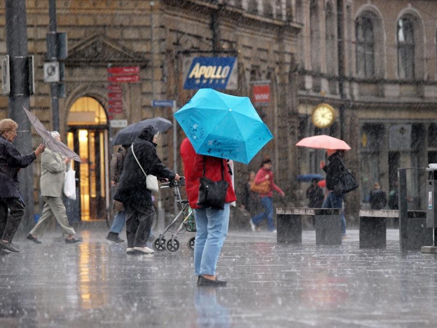Wetterdienst warnt vor Dauerregen in Niedersachsen und Sachsen-Anhalt