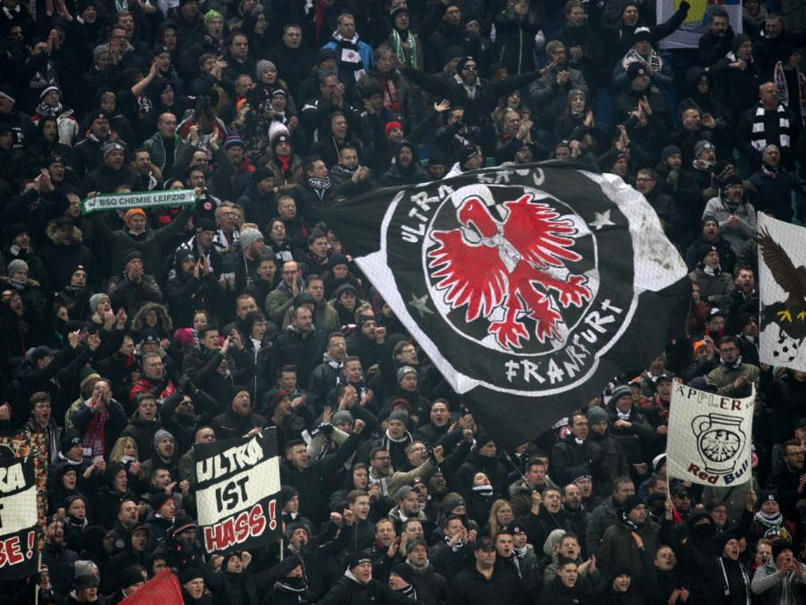 Eintracht Frankfurt im DFB-Pokalfinale