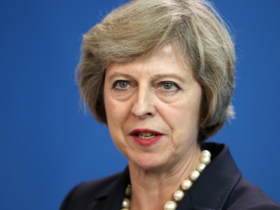 May sieht Brexit-Verhandlung in der