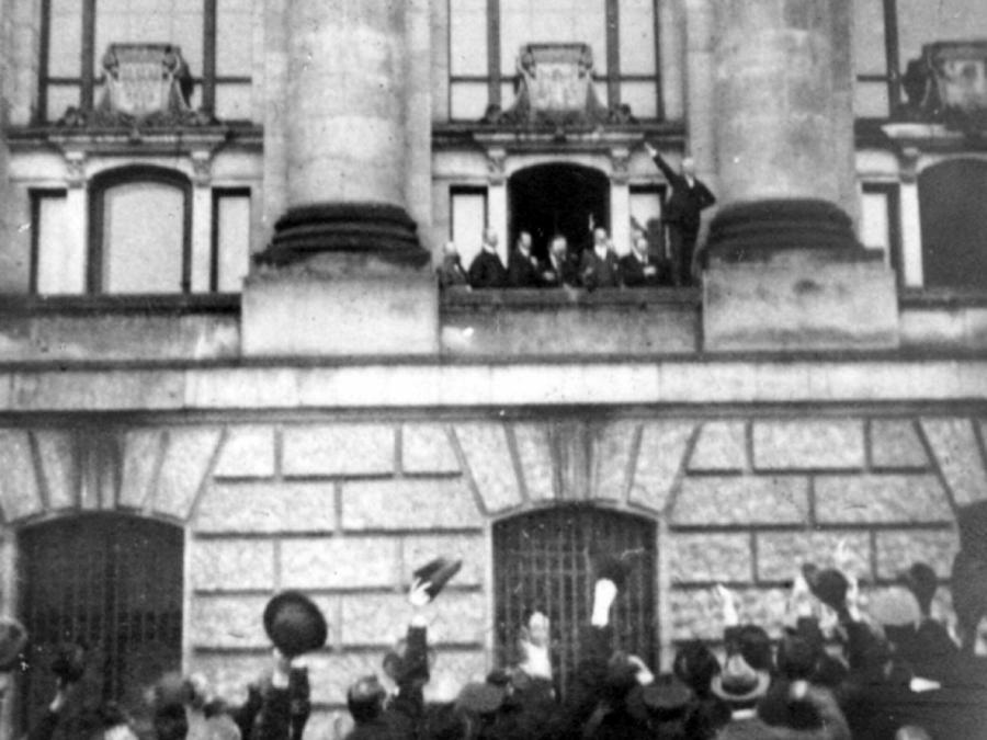 Bundespräsident: Revolution von 1918 bislang unterbewertet
