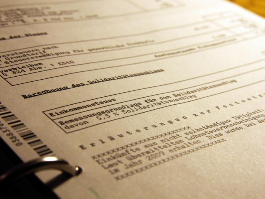 Steuerexperte kritisiert Pläne von Union und SPD zum Soli-Abbau