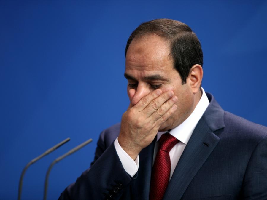 Merkel schickt Kondolenztelegramm an Ägyptens Präsidenten
