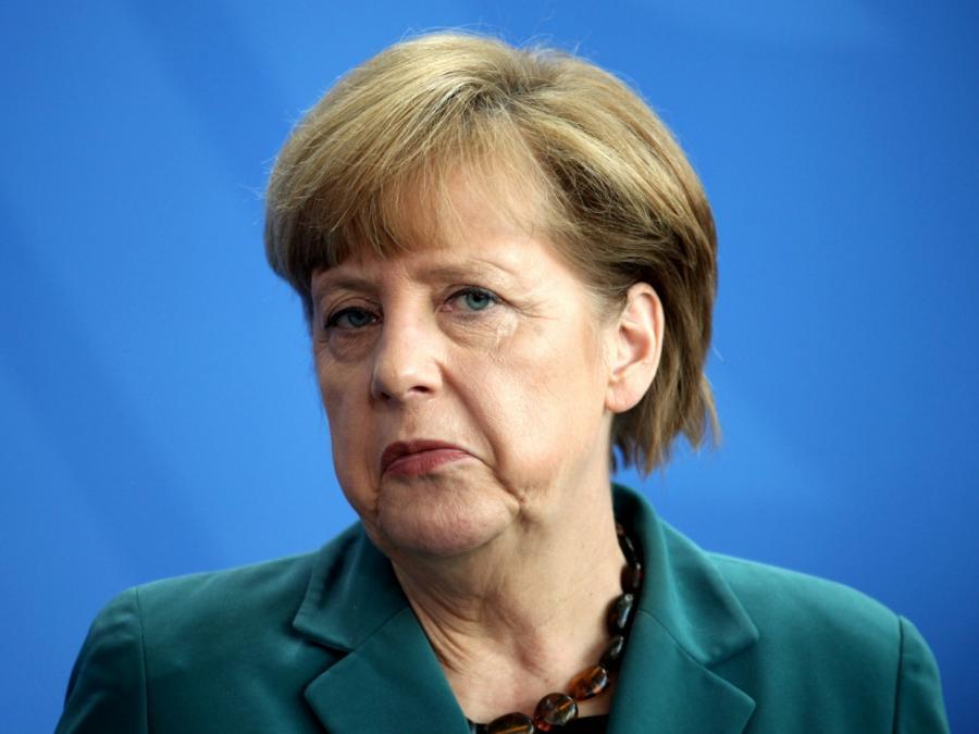 Merkel fühlt sich am Wahltag an Schulzeiten erinnert