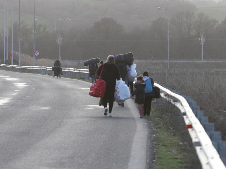 Flüchtlingsstrom über Balkanroute nimmt zu