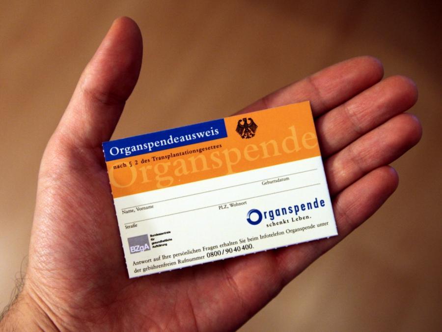 Patientenbeauftragte für Widerspruchslösung bei Organspenden