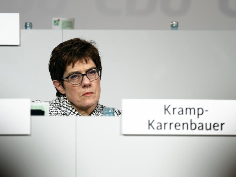 Kantar/Emnid: Union auf tiefstem Stand seit Oktober 2018