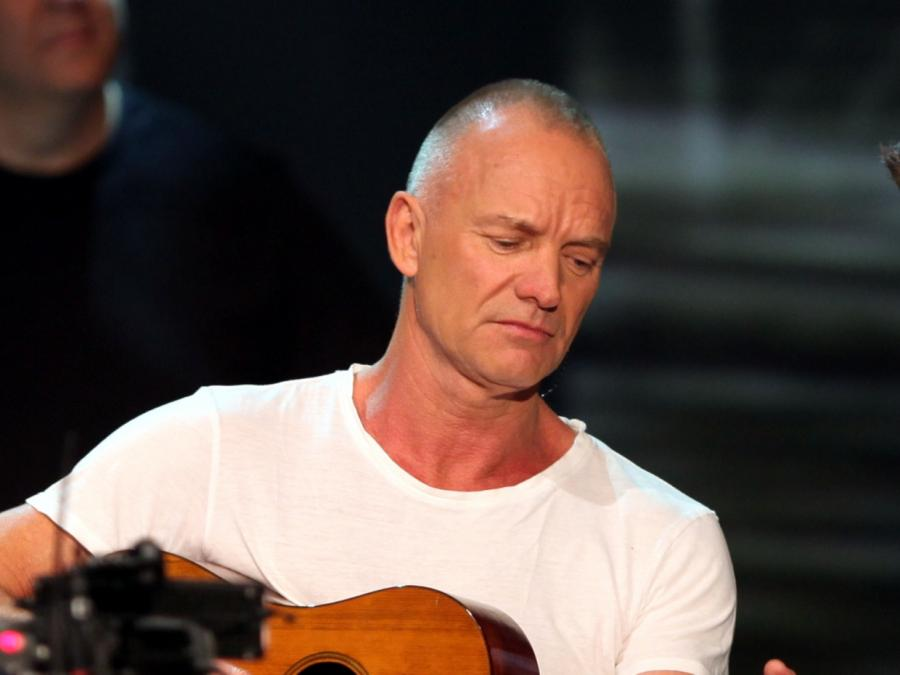 Sting macht am liebsten im Weinkeller Musik