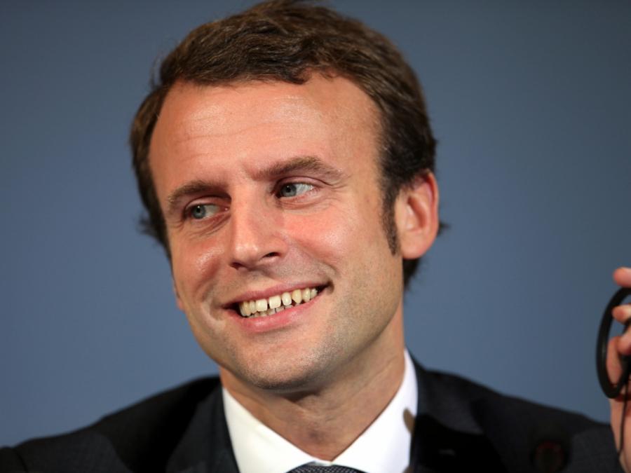 Französischer Präsidentschaftskandidat Macron kündigt Reformen an