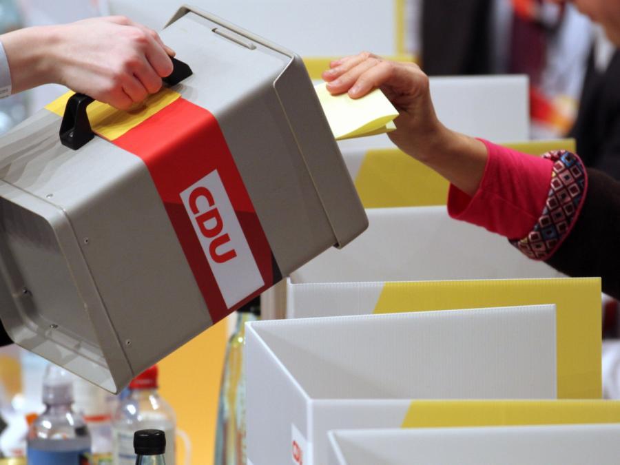 CDU-Landesverbände wollen Parteitag im Januar erzwingen