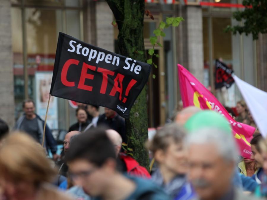 Deutsche Wirtschaft fordert schnelle Ceta-Ratifizierung