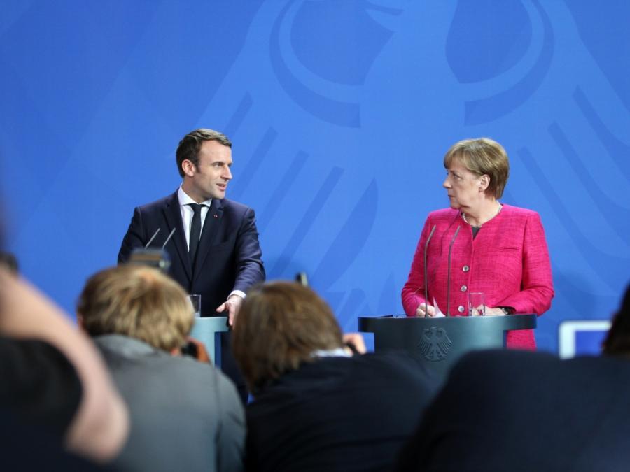 Merkel und Macron wollen neuen Élysée-Vertrag schließen