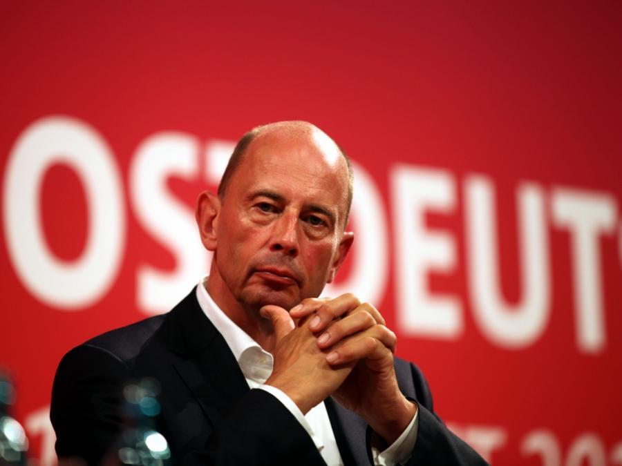 Tiefensee will Investitionen in Ostdeutschland