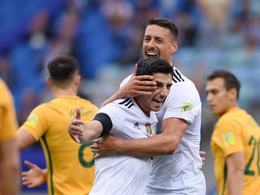 Confed Cup: Deutschland schlägt Australien 3:2