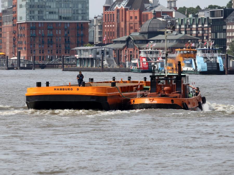 Bericht: Hafenschlick in Hamburg bedroht Elbvertiefung