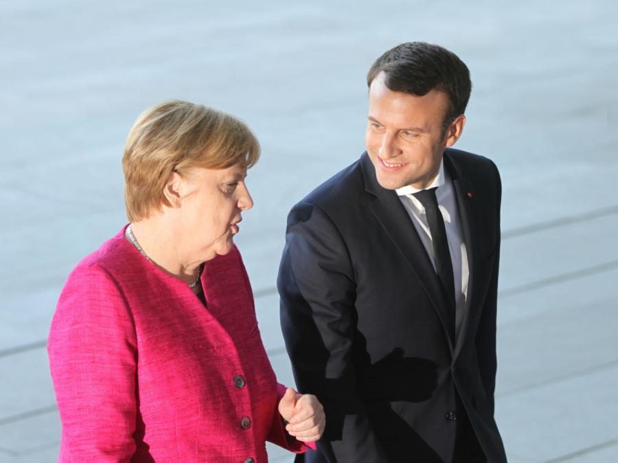Deutsch-französisches Parlament will Merkel und Macron kontrollieren