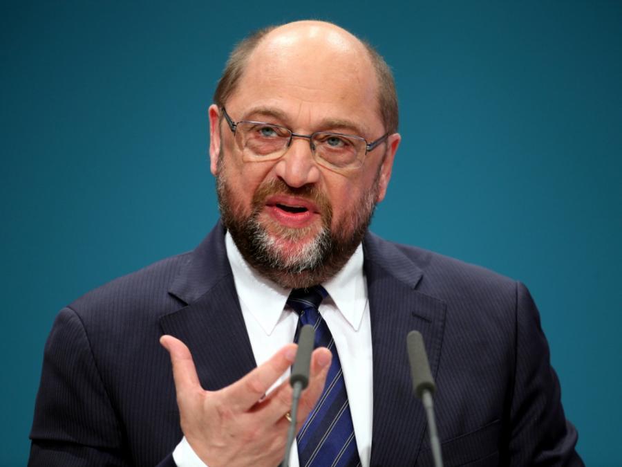 Schulz mit 100 Prozent zum neuen SPD-Chef gewählt