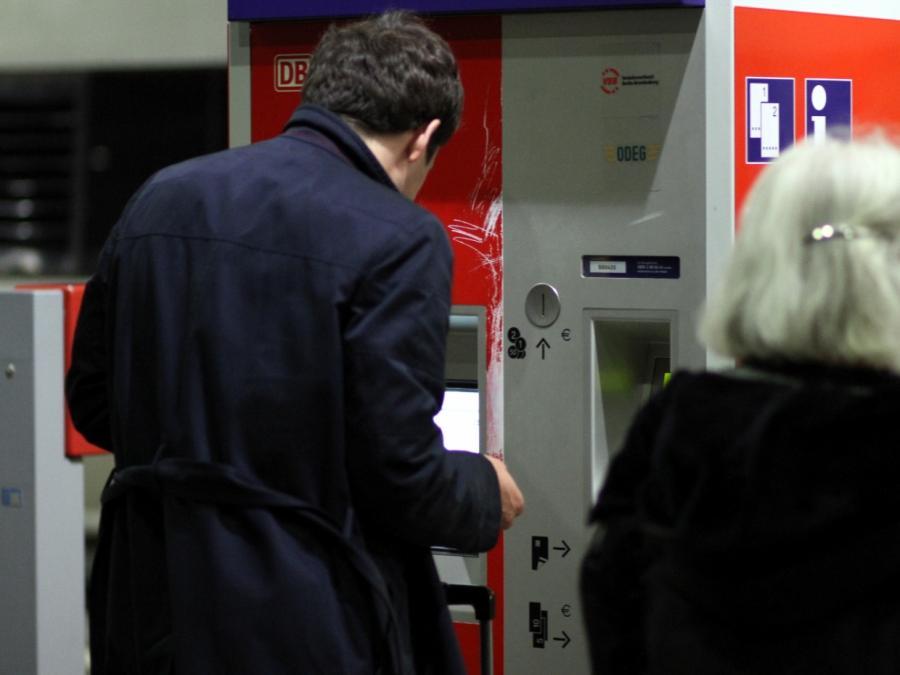 Bahn: Fahrkartenkauf an Automaten wird vorerst nicht eingestellt