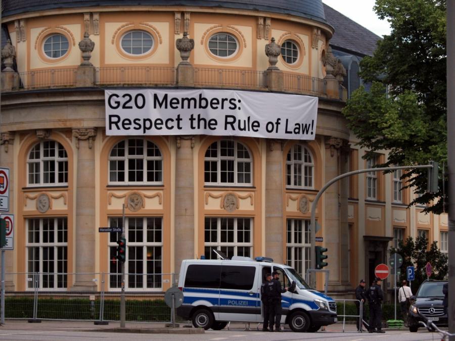 Nach G20: Bundesdatenschutzbeauftragte kritisiert Polizeidatei