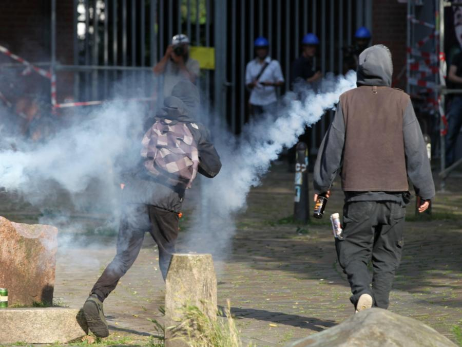 Verfassungsschutzpräsident: Gewaltbereitere Linksextremisten