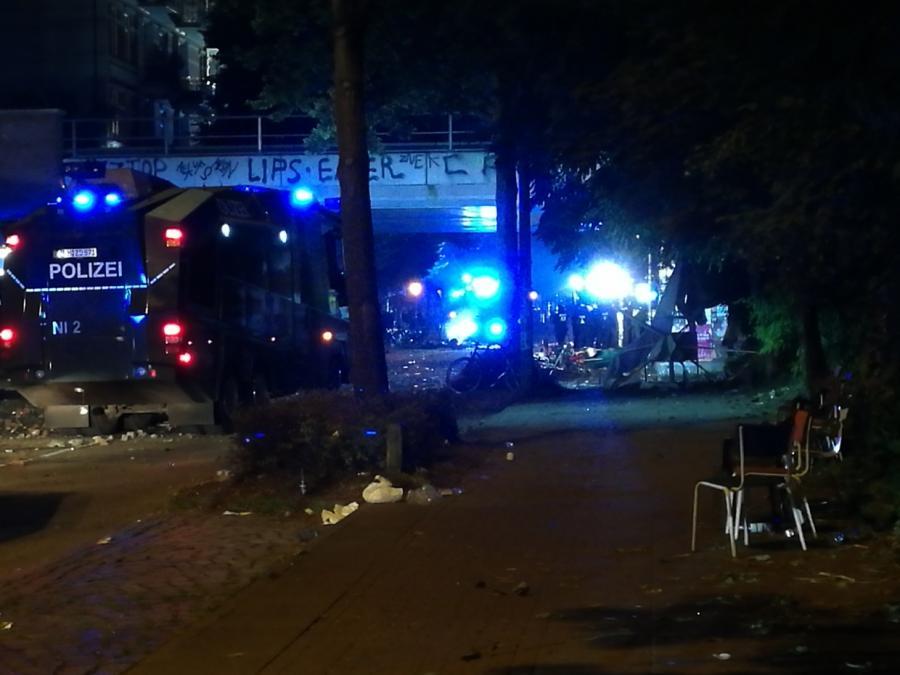 G20-Gipfel geht nach Protestnacht in Hamburg weiter