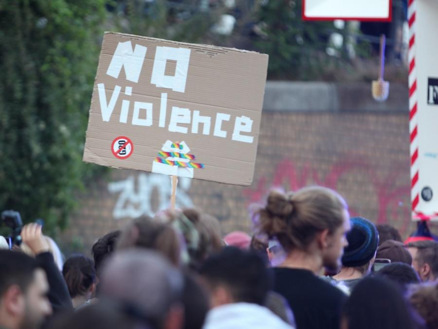 Großdemonstration G20 - not welcome! beginnt im Hamburg