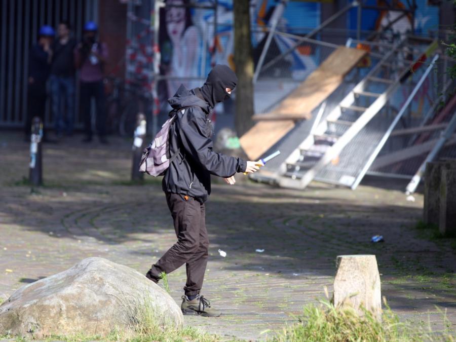 Maas kündigt hartes Vorgehen gegen Hamburger Gewalttäter an