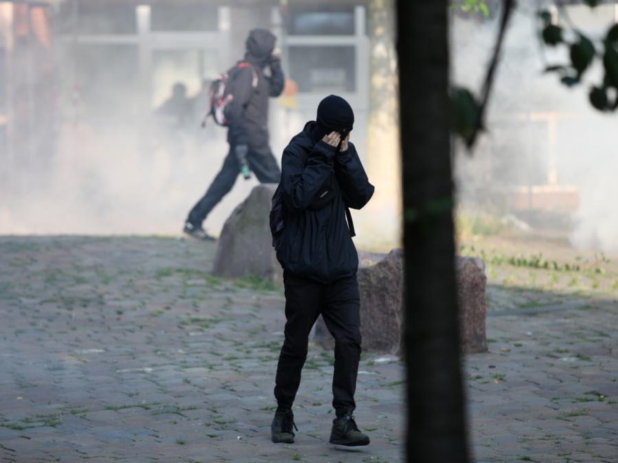 Krawalle in Hamburg: SPD fordert volle Härte des Gesetzes