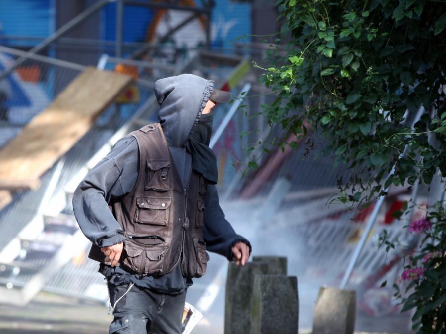 Maaßen warnt nach G20-Krawallen vor Stärkung der linksextremen Szene
