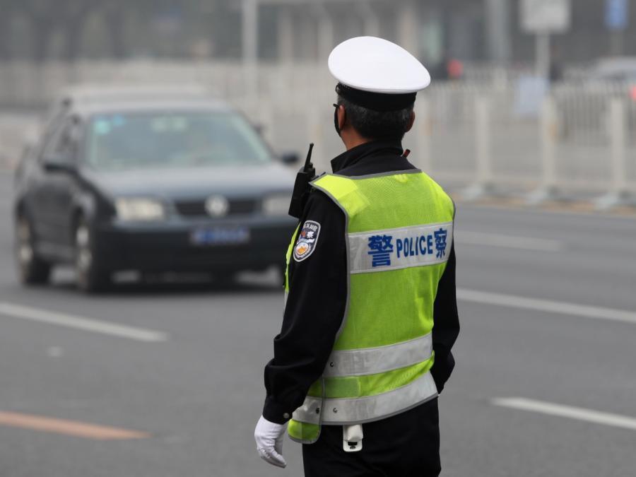 Kritik an chinesischen Polizeistreifen in Europa