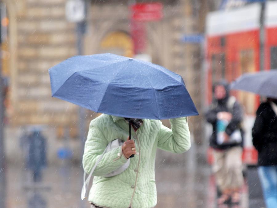 Wetterdienst warnt vor ergiebigem Dauerregen in Teilen Deutschlands