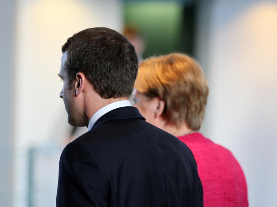 Merkel kondoliert Macron nach Anschlag in Straßburg