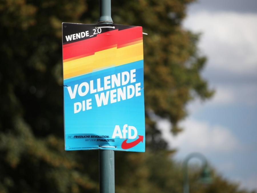 Kantar/Emnid: AfD fällt auf Umfrage-Tiefstand