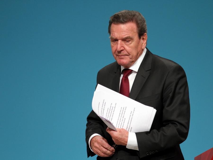 Trittin hält Sanktionen gegen Schröder für unrealistisch