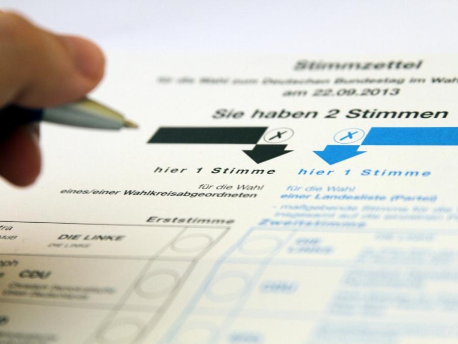 Bundestagswahl: Reihenfolge der Parteien auf Stimmzettel nicht überall gleich