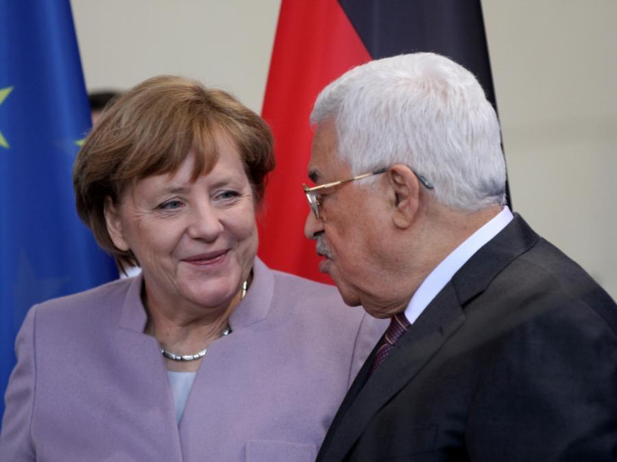 Merkel und Abbas besprechen aktuelle Lage in Palästinensergebieten