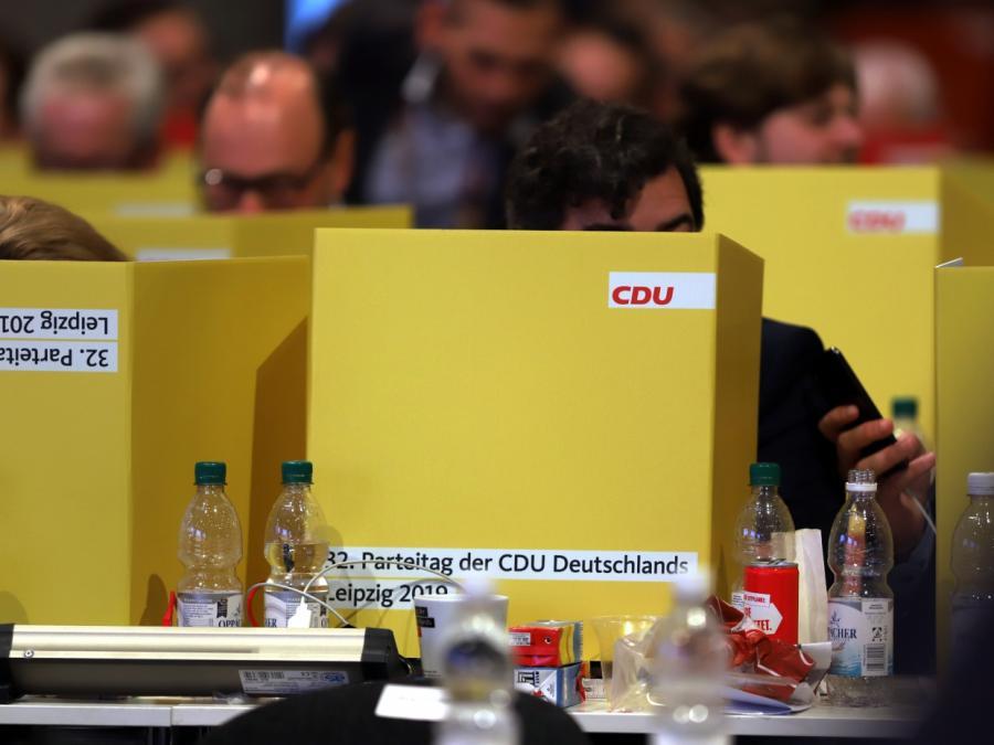 Parteispitze will dezentralen CDU-Bundesparteitag