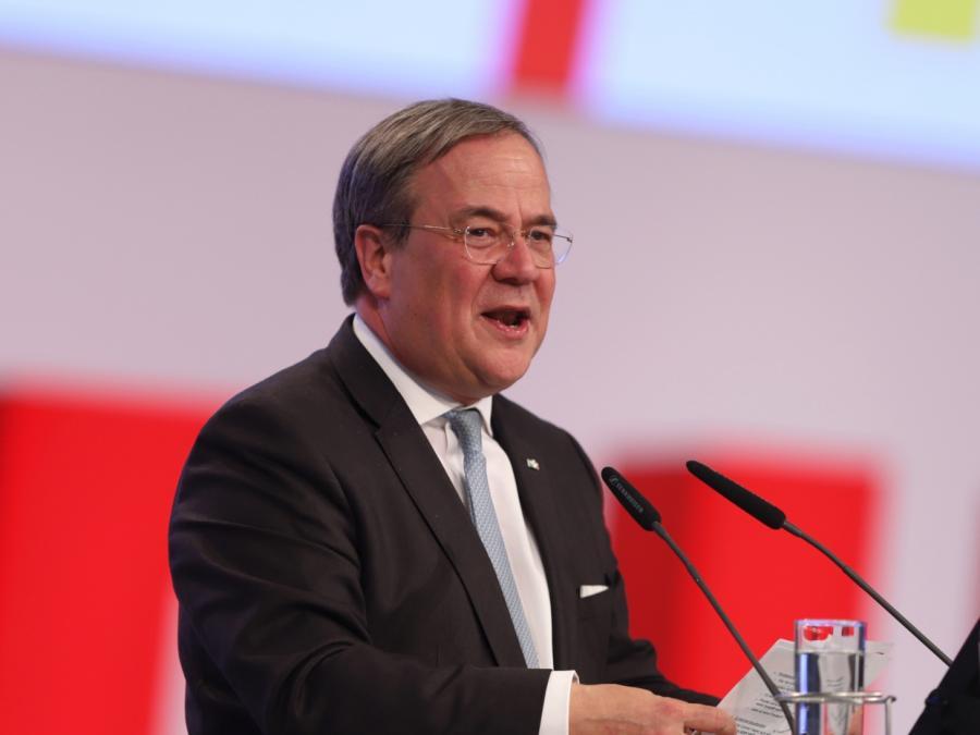 Laschet verteidigt seine Krisenpolitik