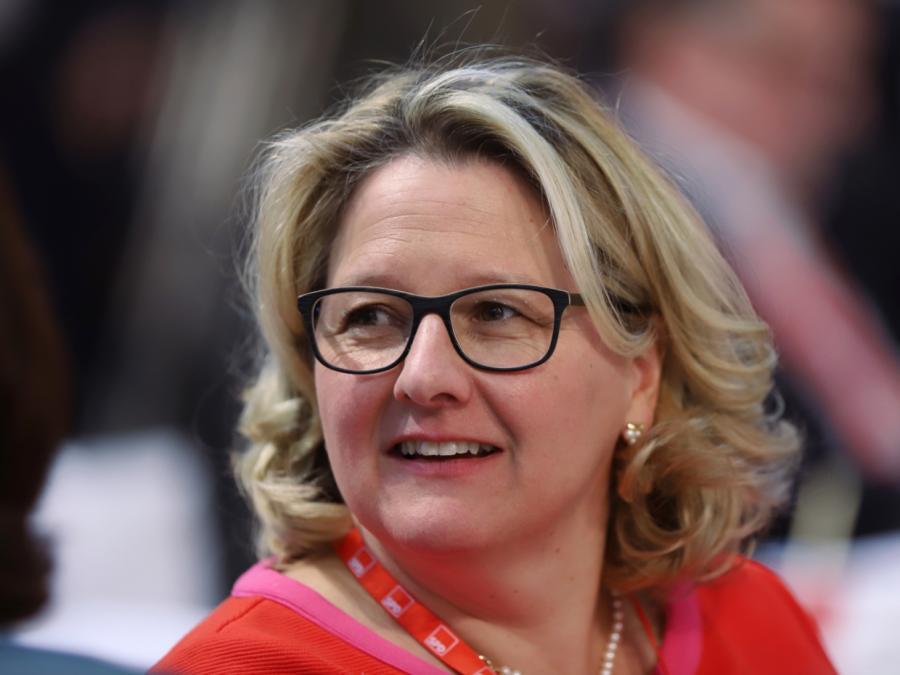 Svenja Schulze lobt Merkel: Kanzlerin treibt Klimathemen voran