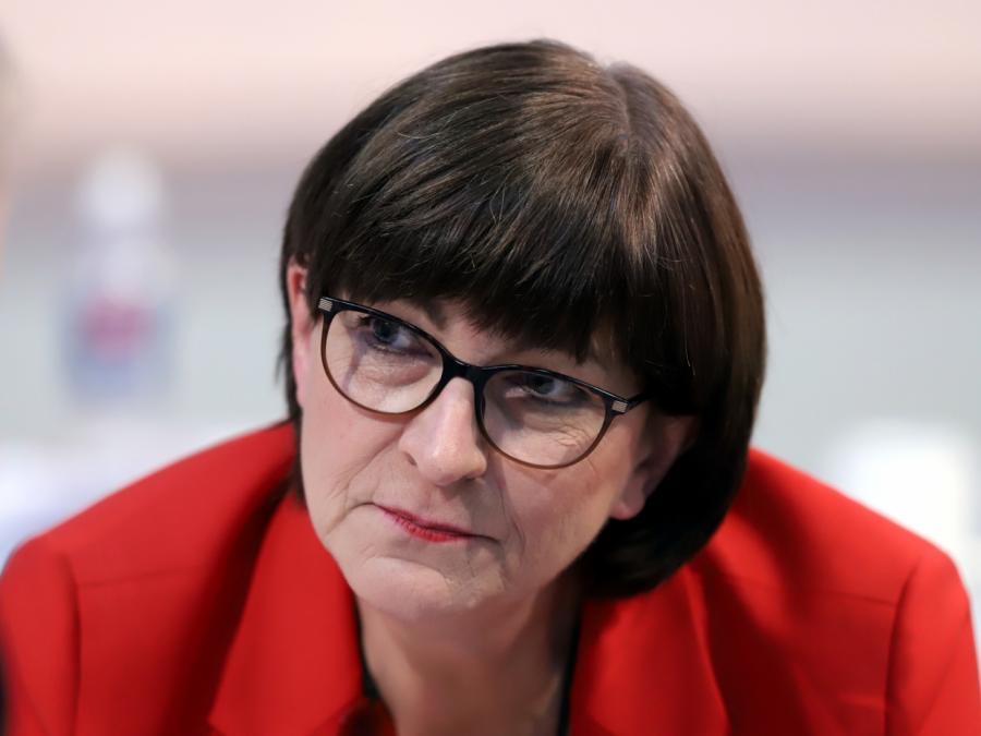 Esken: SPD würde auch Juniorpartner in Linksbündnis sein