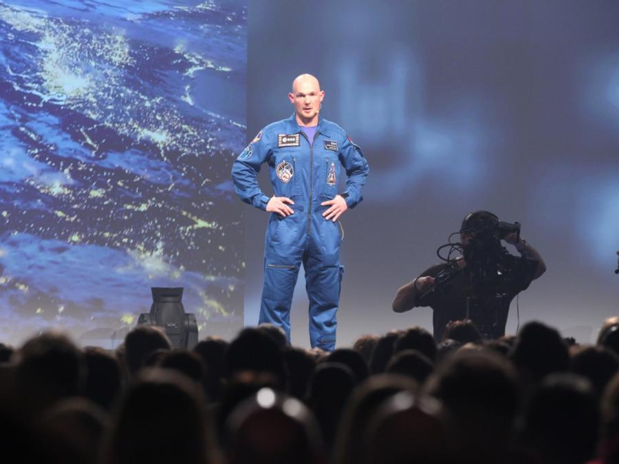 Astronaut Gerst musste wegen Harvey Training in USA unterbrechen