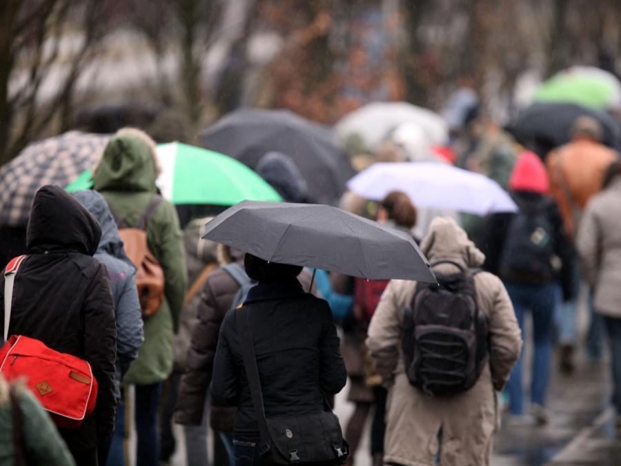 Wetterdienst warnt vor Unwetter in Süddeutschland