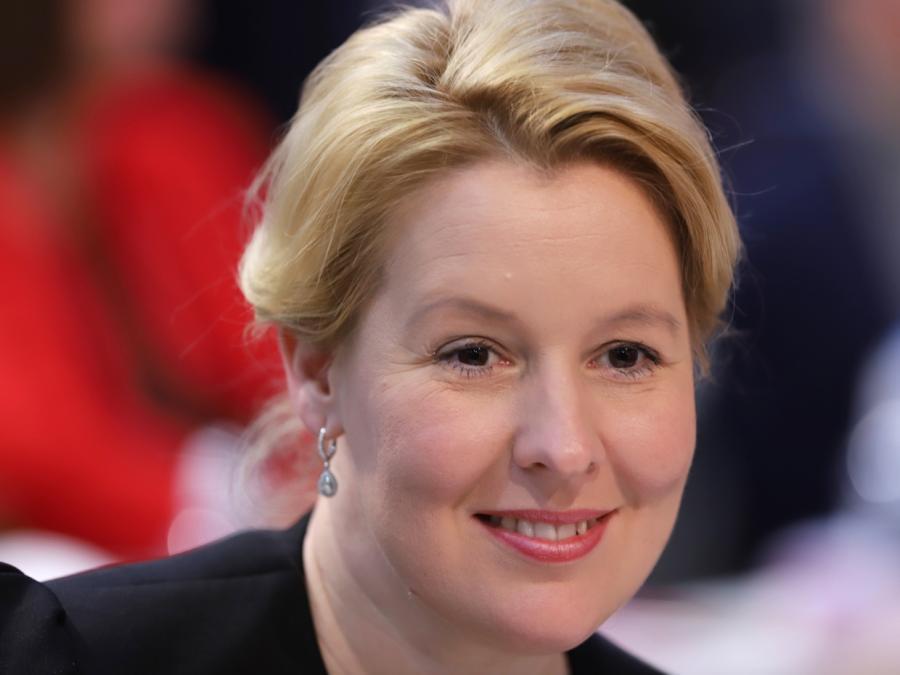 Giffey neben Saleh neue SPD-Vorsitzende in Berlin