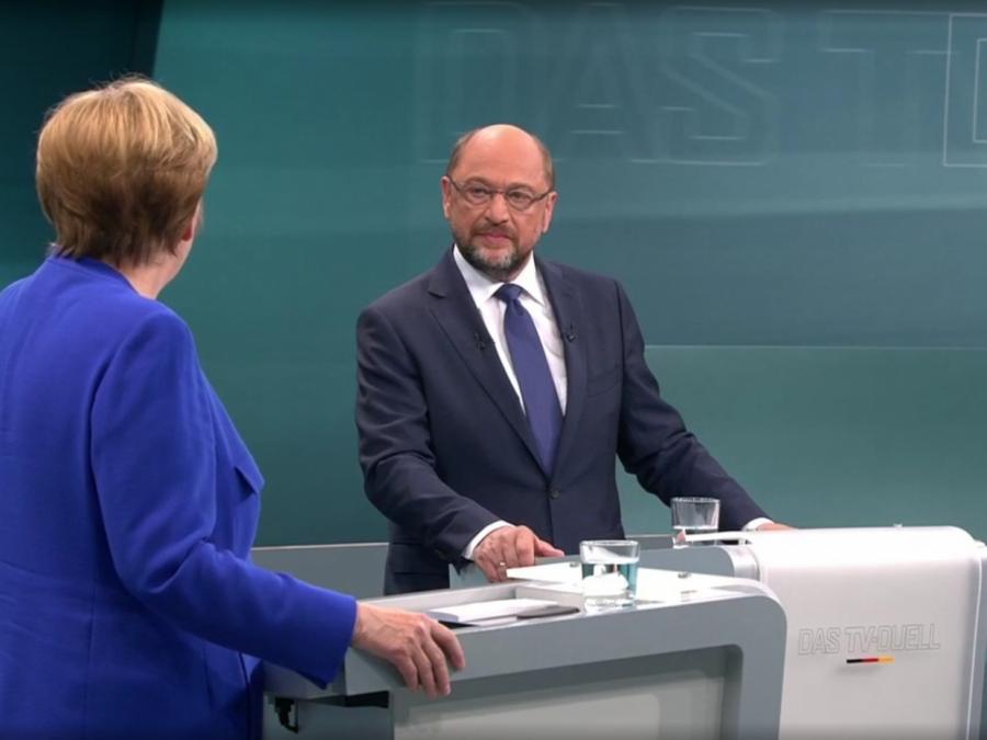 Experte: Schulz-Forderung nach zweitem TV-Duell unglaubwürdig