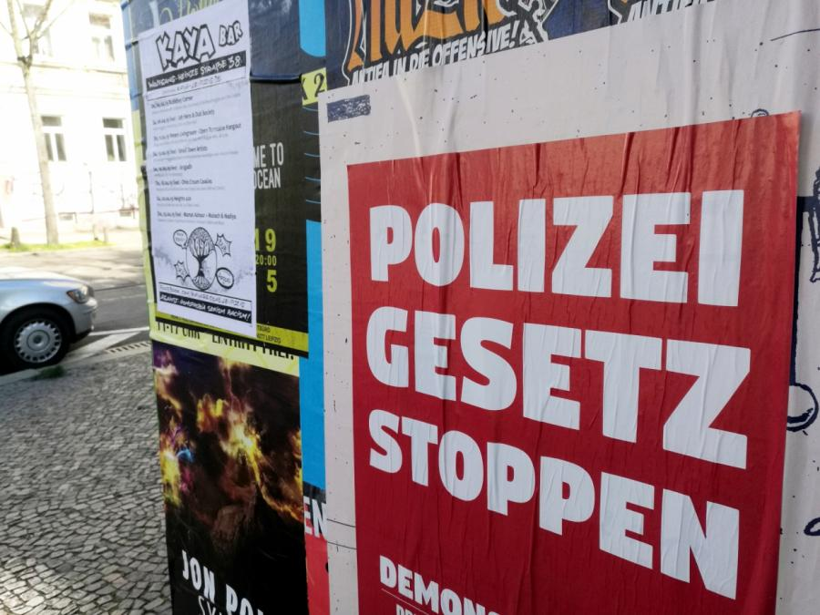 Klage gegen sächsisches Polizeigesetz beim Bundesverfassungsgericht