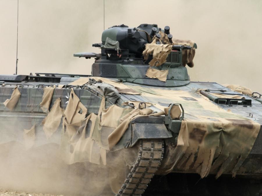Brinkhaus gegen Nahles-Vorschlag zu Rüstungsexportstopp